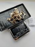 Цепь 585 пробы, с 1 бриллиантом. Качественная копия BARAKA, фото №5