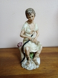 """Статуэтка """"Римлянин со змеёй"""", Япония., фото №2"""