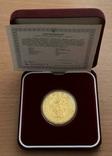 500 гривень 1996 рік. Оранта. Золото 31,1 грам. Банківський стан  000071, фото №2