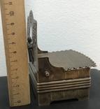 Серебряная солонка 84 пробы. Хлебников 1873 год (без соли без хлеба половина обеда), фото №3