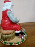"Статуэтка ""Дед Мороз с подарками""., фото №5"