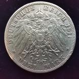 3 марки Саксония 1913 г., фото №3