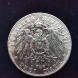 3 марки Саксония 1910 г., фото №2