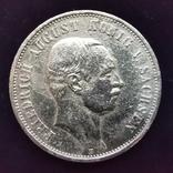 3 марки Саксония 1910 г., фото №3
