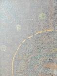 Старинная икона Богородицы на жести, фото №11
