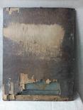 Старинная икона Богородицы на жести, фото №12