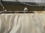 Сумочка театральная вышитая бусинами, фото №6