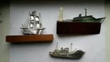 Сувениры настольные Одесса корабли 3шт, фото №3