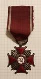 Крест За заслуги второй степени Польша, фото №2