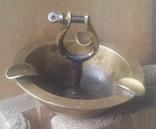 Латунная пепельница., фото №2