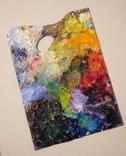 Настоящая палитра(2) художника.Продается как арт-обьект., фото №2