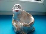 Пепельница обезьянка., фото №7