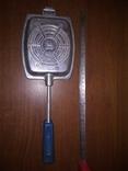 Тостер. Форма для приготовления тостов на газу-советская, фото №2