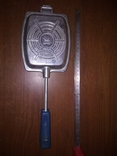 Тостер. Форма для приготовления тостов на газу-советская, фото №3