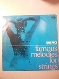 Пластинка Famous melodies for strings, фото №2