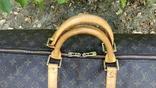 Дорожная сумка louis vuitton, с номером, фото №13