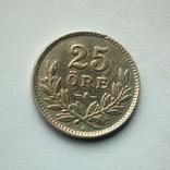 Швеция 25 эре 1940 г. - серебро, фото №3