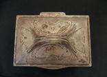 Немецкая серебряная шкатулка мастерской Вильгельма Биндера 800*, фото №7