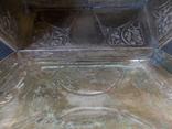 Немецкая серебряная шкатулка мастерской Вильгельма Биндера 800*, фото №10