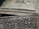 Немецкая серебряная шкатулка мастерской Вильгельма Биндера 800*, фото №11