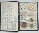 Годовой набор монет Израиля (Israel) 1979 года, 7 монет, фото №2
