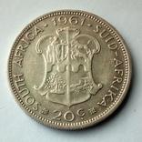 Южная Африка 20 центов 1961 г., фото №3