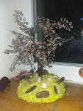 """Дерево з бісеру """"Крик душі"""", фото №2"""