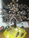"""Дерево з бісеру """"Крик душі"""", фото №3"""