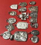 Ладанки срібні 925пр 43грм, фото №4