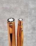 Набор перьевая ручка Montblanc Noblesse 1147 и шариковая ручка Montblanc, фото №4