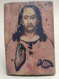 Спаситель. Икона. 19х13., фото №2