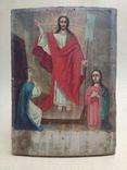 Воскресение Христово. Икона. 21х29. Красивые лики., фото №3