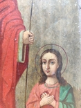Воскресение Христово. Икона. 21х29. Красивые лики., фото №6