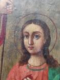 Воскресение Христово. Икона. 21х29. Красивые лики., фото №10