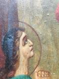 Воскресение Христово. Икона. 21х29. Красивые лики., фото №11