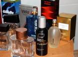 Пустые флаконы с разной парфюмерии + пустые коробки в подарок, фото №7