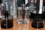 Пустые флаконы с разной парфюмерии + пустые коробки в подарок, фото №9