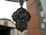 Крест серебро, фото №6