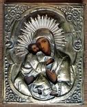 Ікона Володимирська Богородиця, латунь, 22,5х18,0 см, фото №4