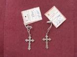 Серебрянный крестик, фото №4