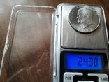 США 1 доллар 1972 S Эйзенхауэр / серебро, фото №4