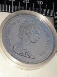 1 доллар, Канада, 1987 г., 400 лет открытию пролива Дейвиса, серебро, 0.500, 23.32 гр., фото №5