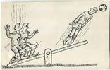 Аркадий Цыкун. Карикатуры футбол. Тушь. 1989г. Одесса. №7, фото №2