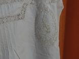 Ночная сорочка 19 век Италия с инициалами, фото №5