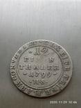 1/12 талера 1799 р. Ангальт., фото №6