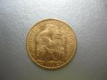 20 франков 1906 год Франция ( Петух), фото №2