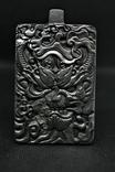 Кулон-амулет Дракон із метеорита Aletai, 95,2 грам, із сертифікатом автентичності, фото №2