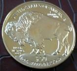 50 доларів США 2015 року. не  магнітний, копія   (позолота 999), фото №2