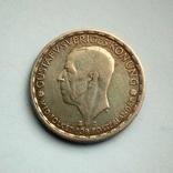 Швеция 1 крона 1942 г. - серебро, фото №5