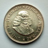 ЮАР 20 центов 1964 г., фото №2